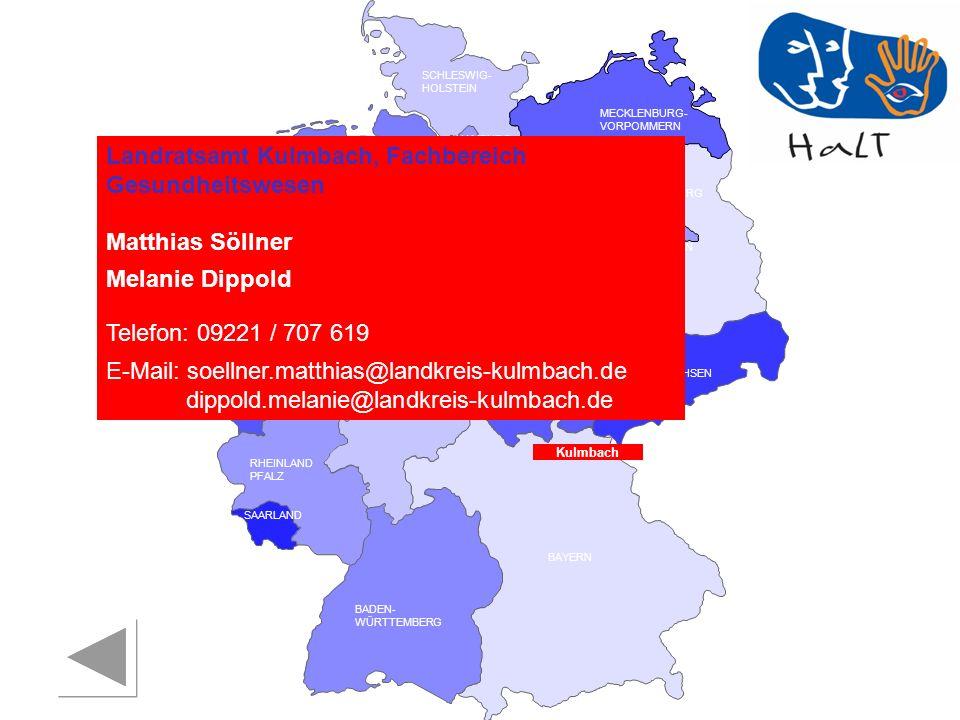 Landratsamt Kulmbach, Fachbereich Gesundheitswesen