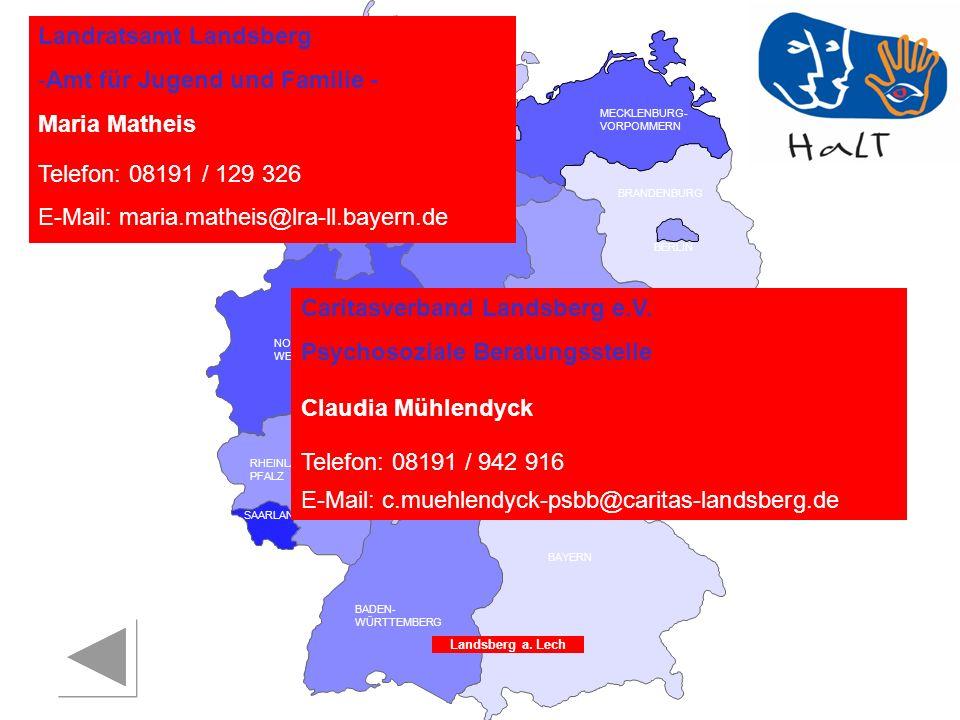 Landratsamt Landsberg Amt für Jugend und Familie - Maria Matheis