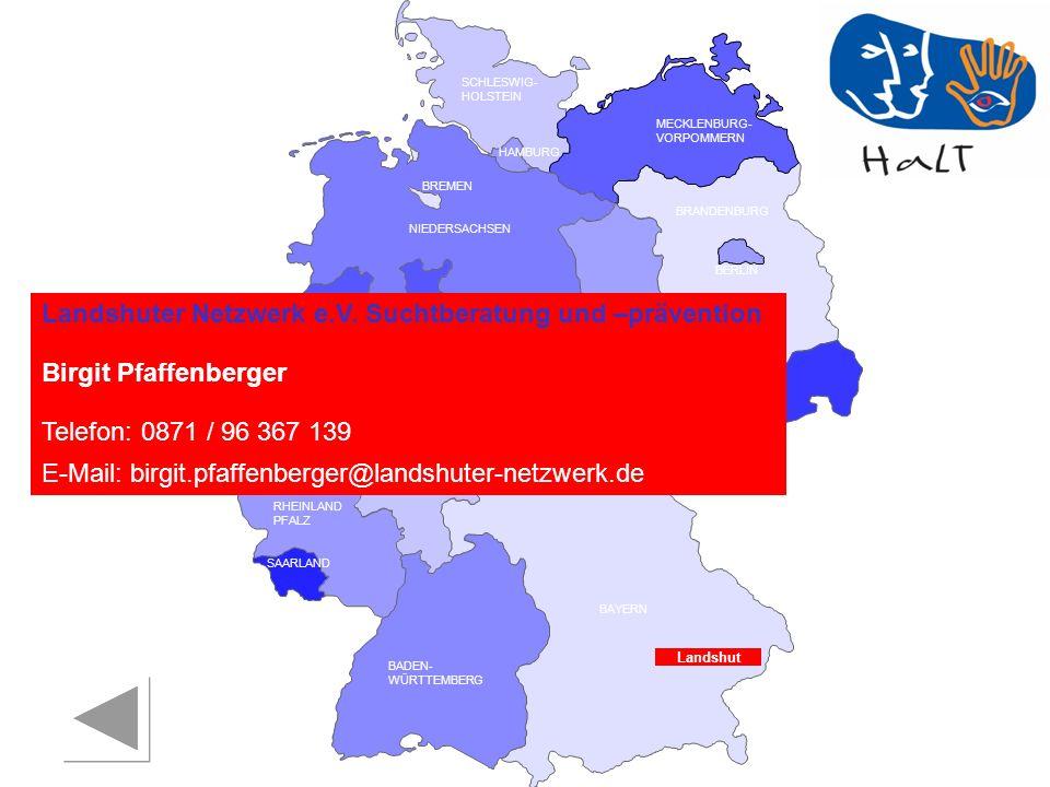 Landshuter Netzwerk e.V. Suchtberatung und –prävention