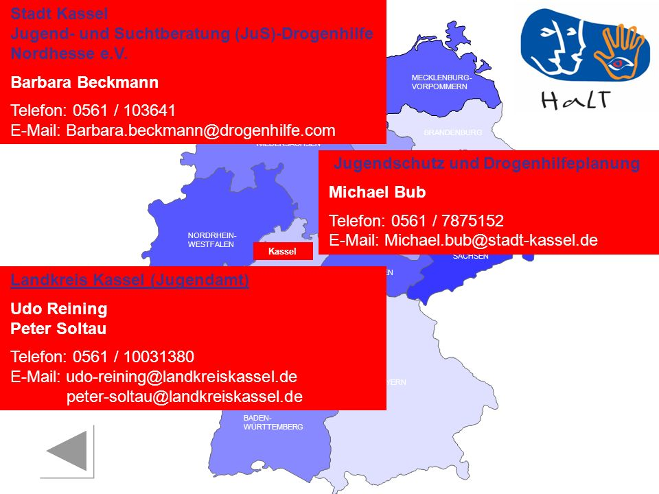 Jugend- und Suchtberatung (JuS)-Drogenhilfe Nordhesse e.V.