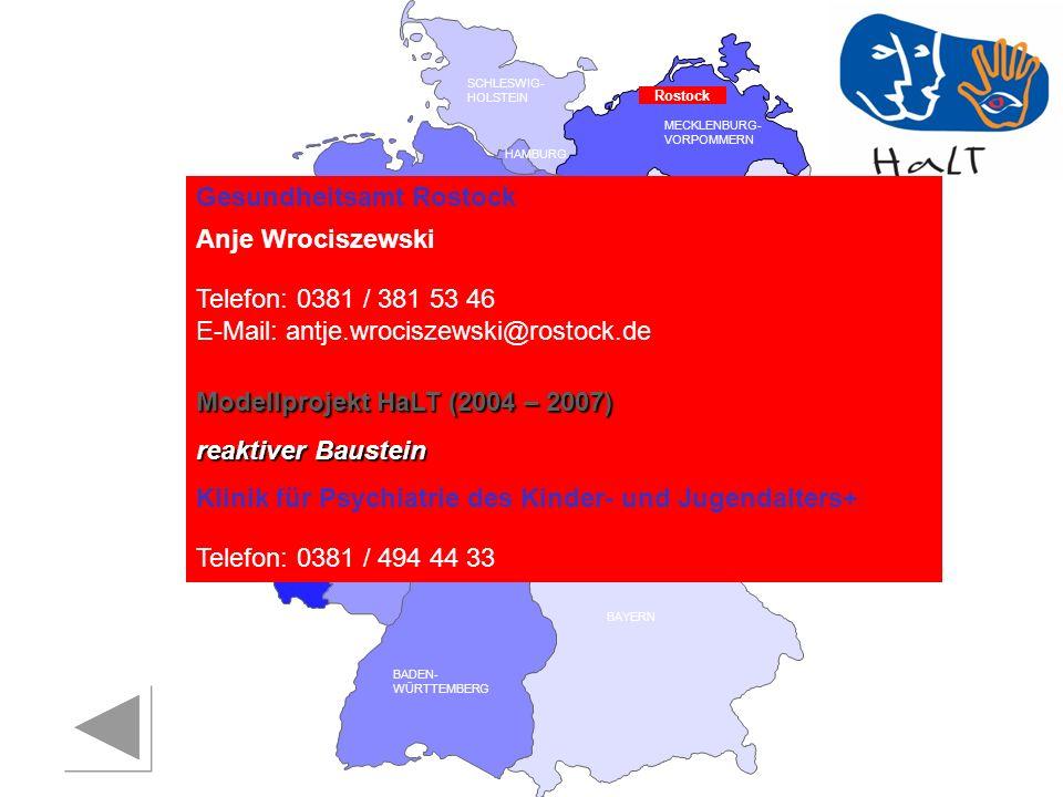 Gesundheitsamt Rostock Anje Wrociszewski