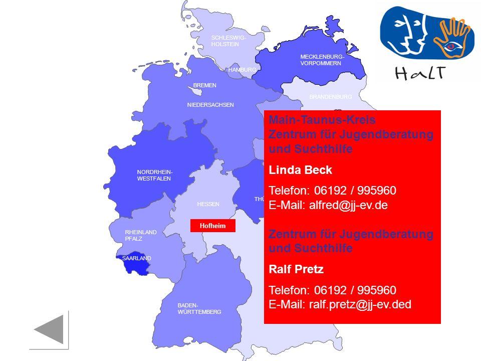 Zentrum für Jugendberatung und Suchthilfe Linda Beck