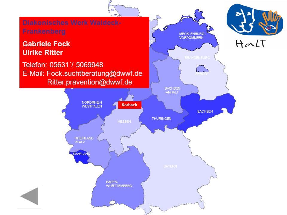 Diakonisches Werk Waldeck-Frankenberg Gabriele Fock Ulrike Ritter