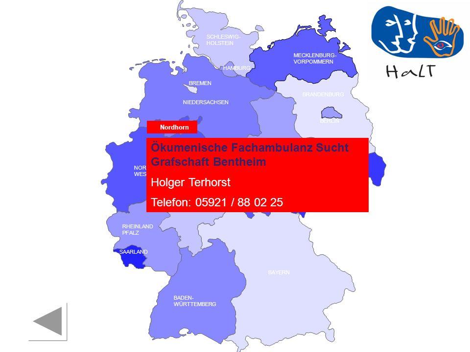 Ökumenische Fachambulanz Sucht Grafschaft Bentheim Holger Terhorst