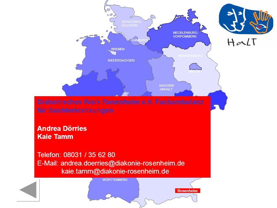 Diakonisches Werk Rosenheim e.V. Fachambulanz für Suchterkrankungen