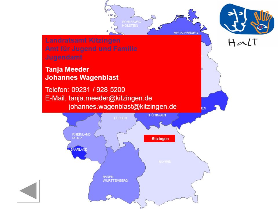 Landratsamt Kitzingen Amt für Jugend und Familie Jugendamt