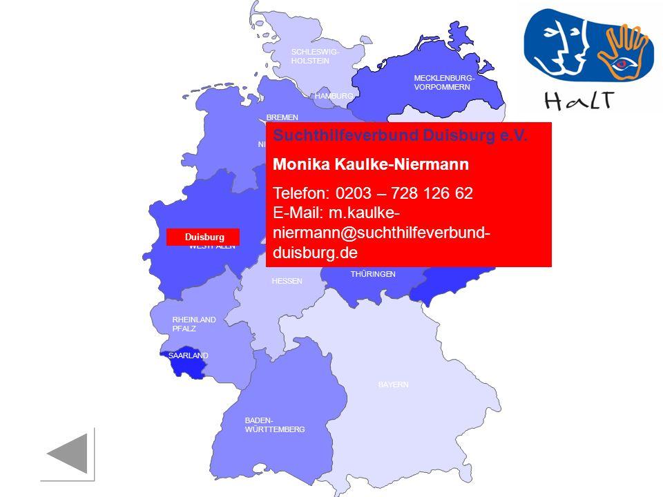 Suchthilfeverbund Duisburg e.V. Monika Kaulke-Niermann