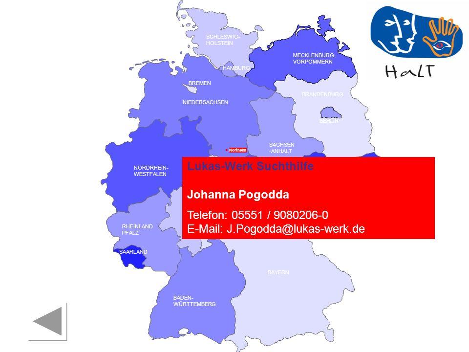 Lukas-Werk Suchthilfe Johanna Pogodda Telefon: 05551 / 9080206-0