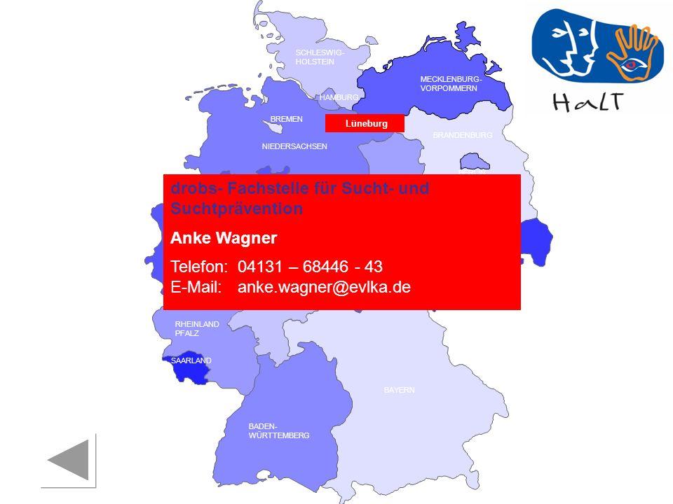 drobs- Fachstelle für Sucht- und Suchtprävention Anke Wagner