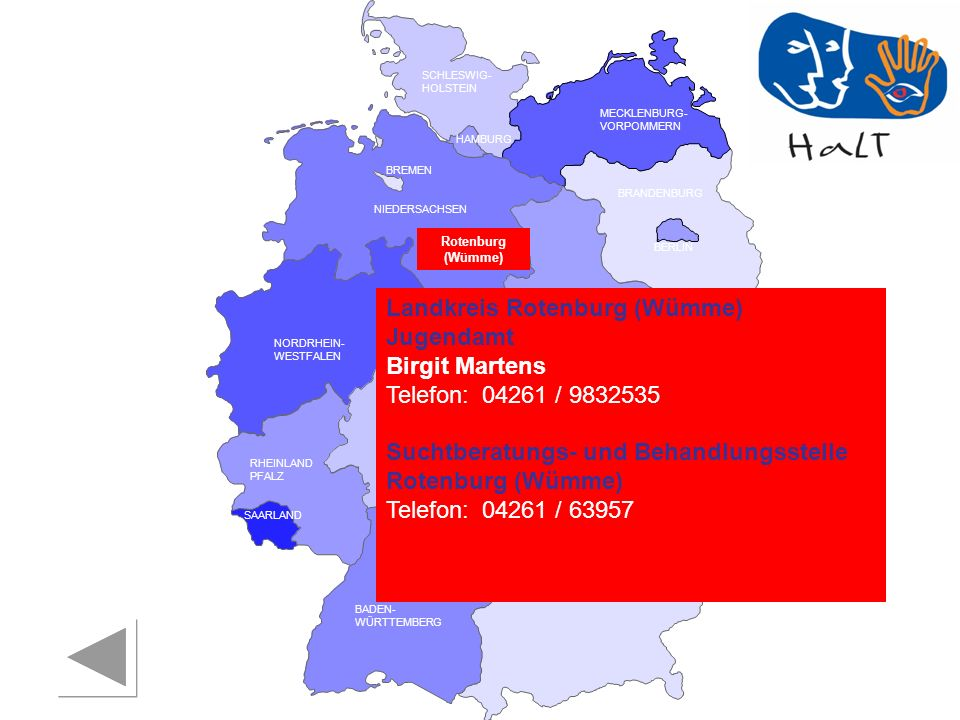 Landkreis Rotenburg (Wümme) Jugendamt Birgit Martens