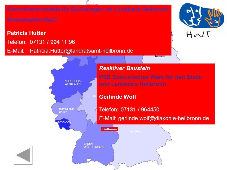 Koordinationsstelle für Suchtfragen im Landkreis Heilbronn