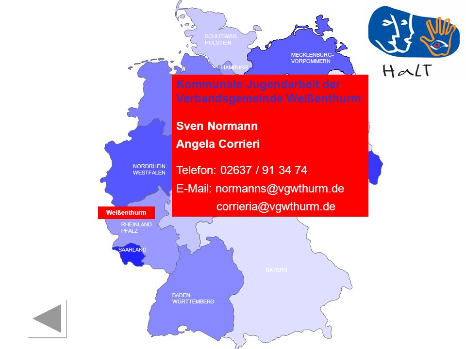 Kommunale Jugendarbeit der Verbandsgemeinde Weißenthurm