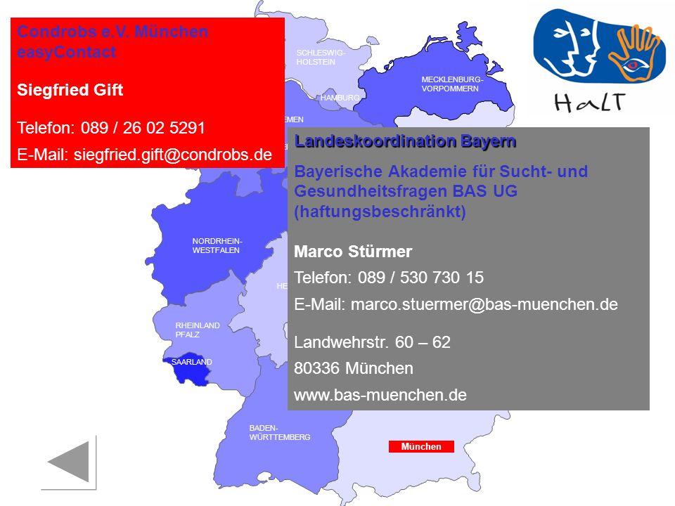 Condrobs e.V. München easyContact