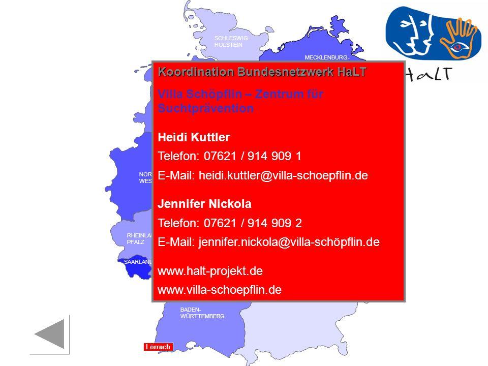 Koordination Bundesnetzwerk HaLT