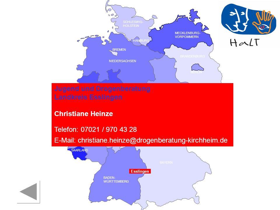 Jugend und Drogenberatung Landkreis Esslingen