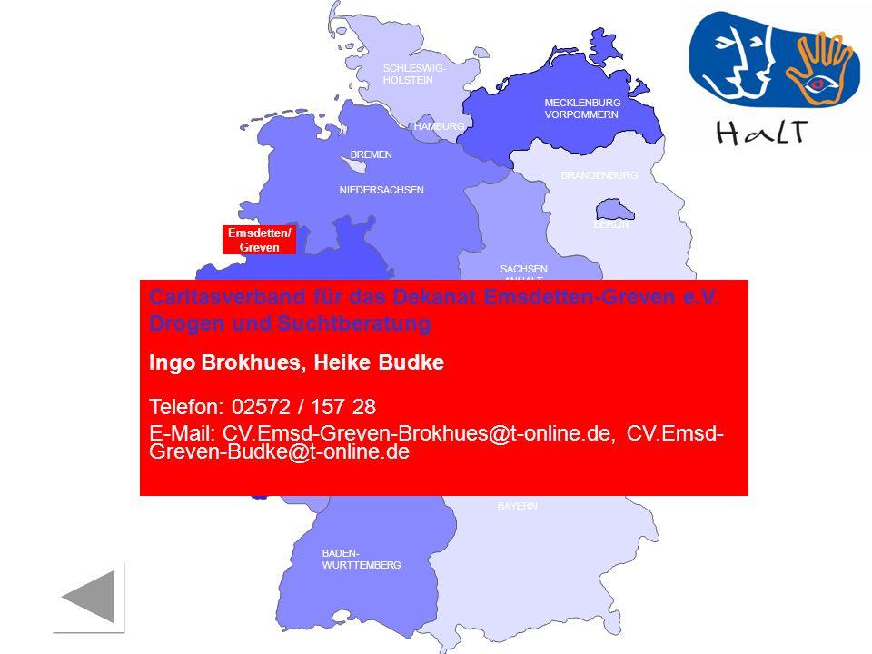 Ingo Brokhues, Heike Budke Telefon: 02572 / 157 28