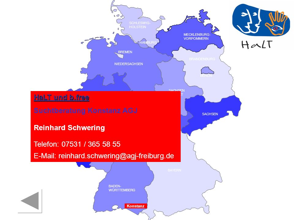 Suchtberatung Konstanz AGJ Reinhard Schwering