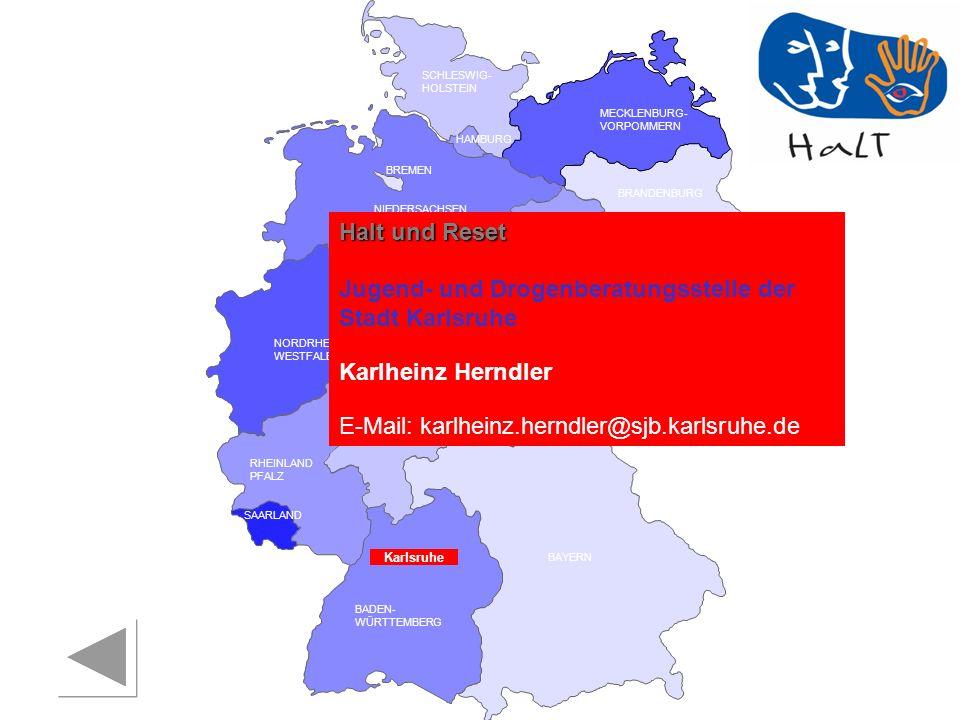 Jugend- und Drogenberatungsstelle der Stadt Karlsruhe
