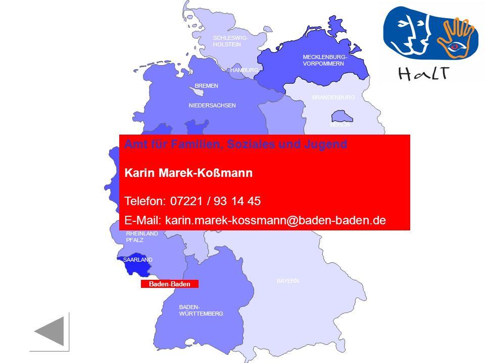 Amt für Familien, Soziales und Jugend Karin Marek-Koßmann