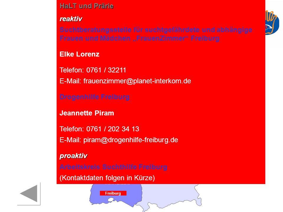 E-Mail: frauenzimmer@planet-interkom.de Drogenhilfe Freiburg
