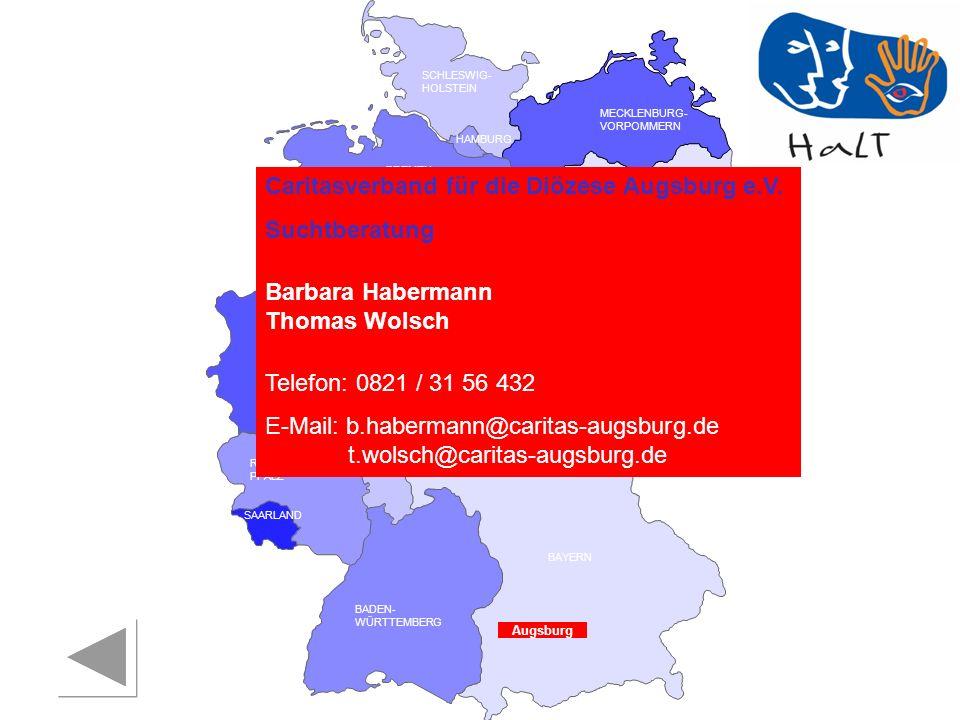 Caritasverband für die Diözese Augsburg e.V. Suchtberatung