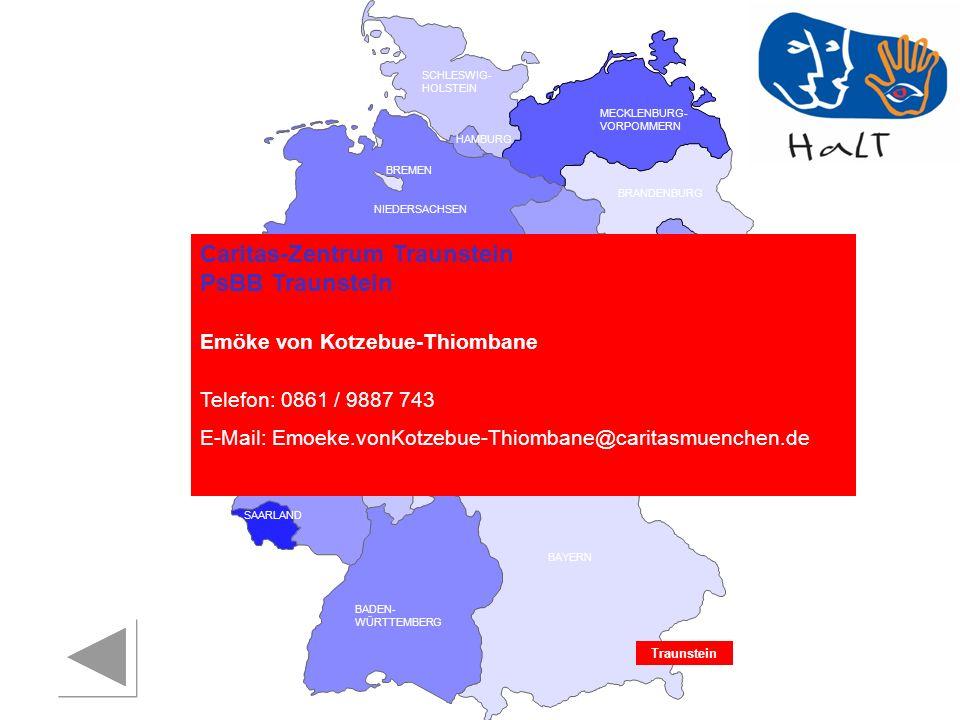 Caritas-Zentrum Traunstein PsBB Traunstein