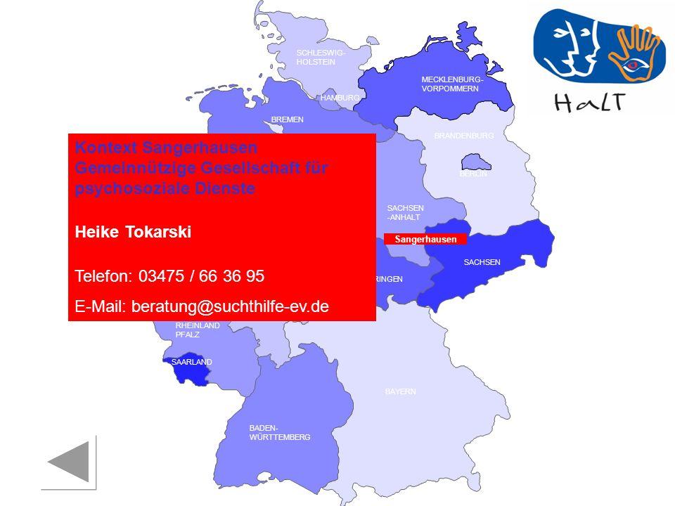 E-Mail: beratung@suchthilfe-ev.de