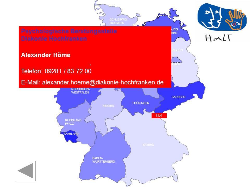 Psychologische Beratungsstelle Diakonie Hochfranken