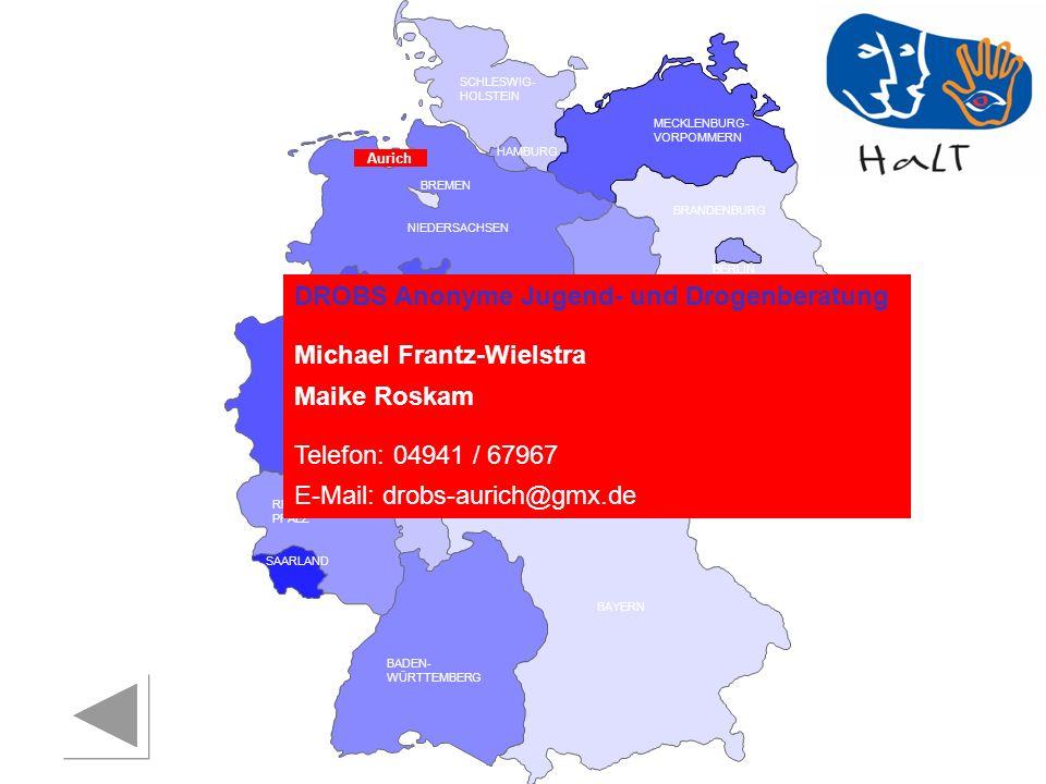 DROBS Anonyme Jugend- und Drogenberatung Michael Frantz-Wielstra