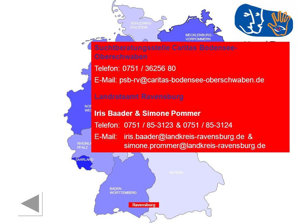 Suchtberatungsstelle Caritas Bodensee-Oberschwaben