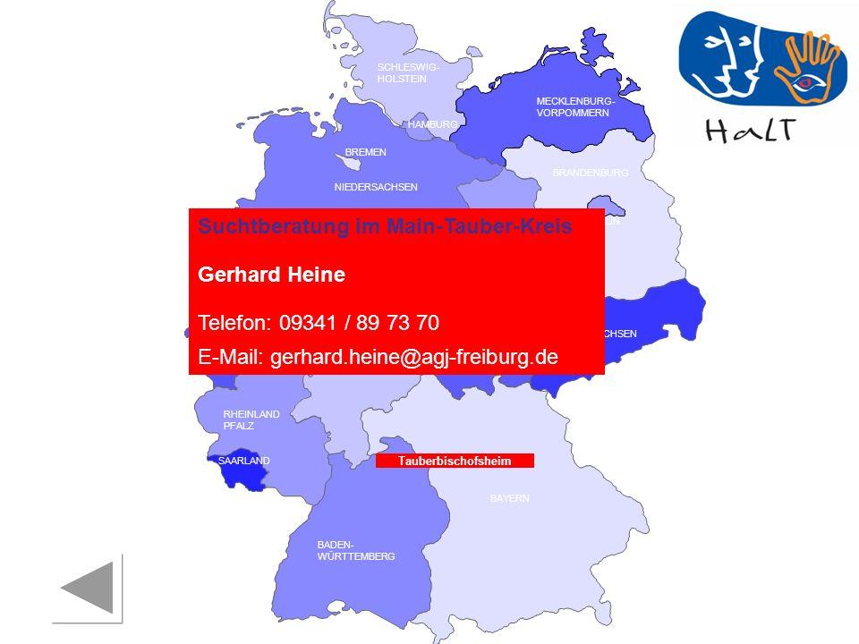 Suchtberatung im Main-Tauber-Kreis Gerhard Heine