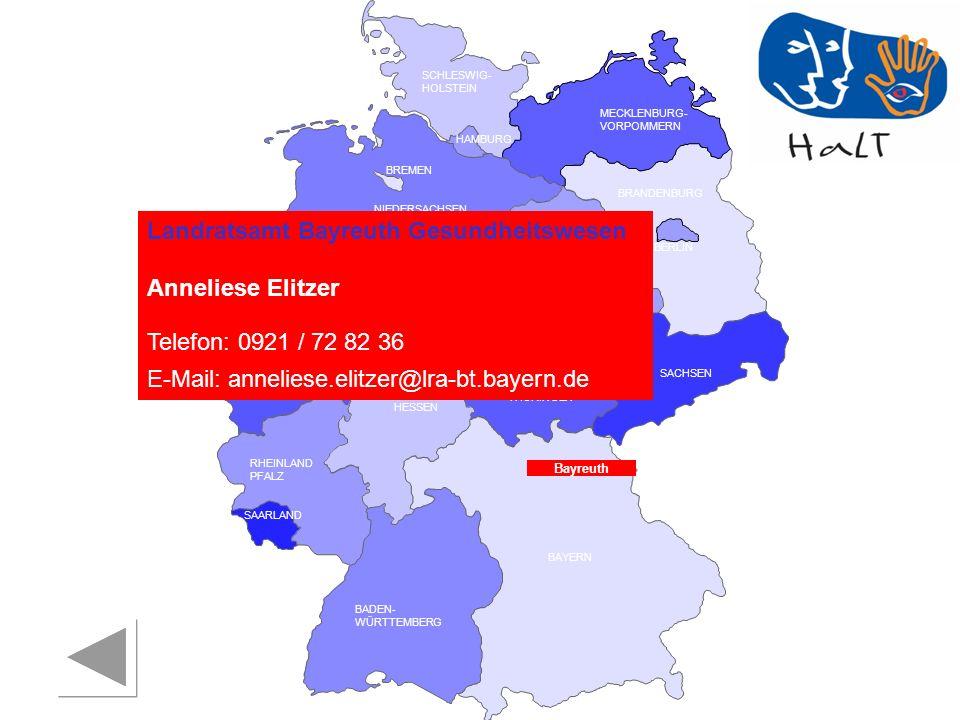Landratsamt Bayreuth Gesundheitswesen Anneliese Elitzer
