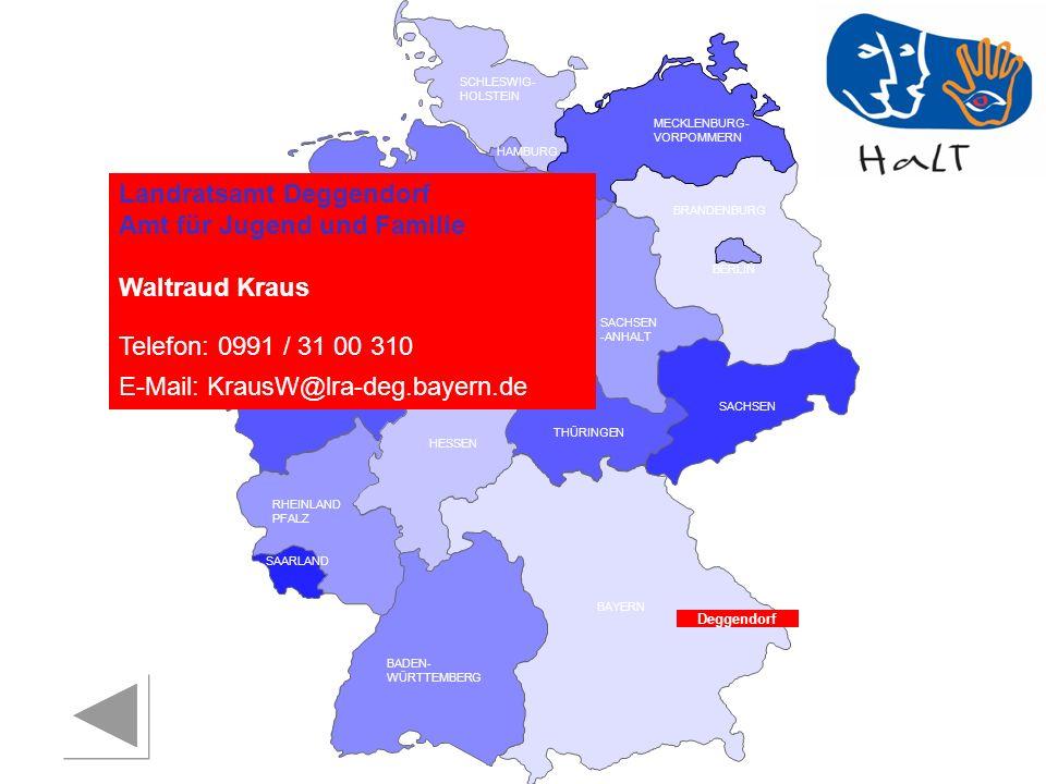 Landratsamt Deggendorf Amt für Jugend und Familie