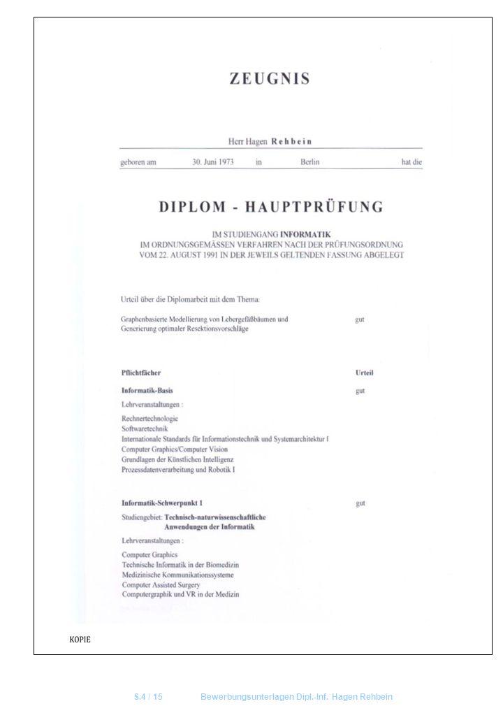 S.4 / 15 Bewerbungsunterlagen Dipl.-Inf. Hagen Rehbein