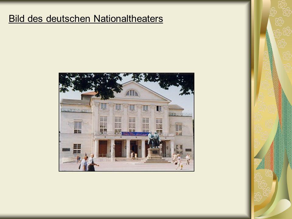 Bild des deutschen Nationaltheaters