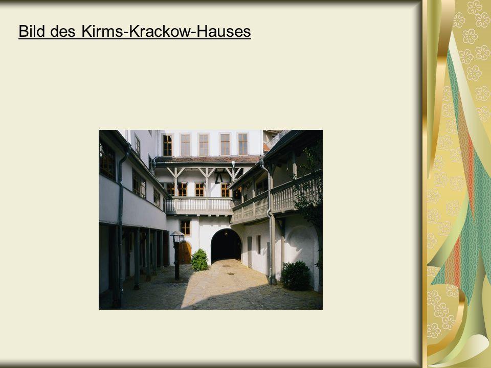Bild des Kirms-Krackow-Hauses