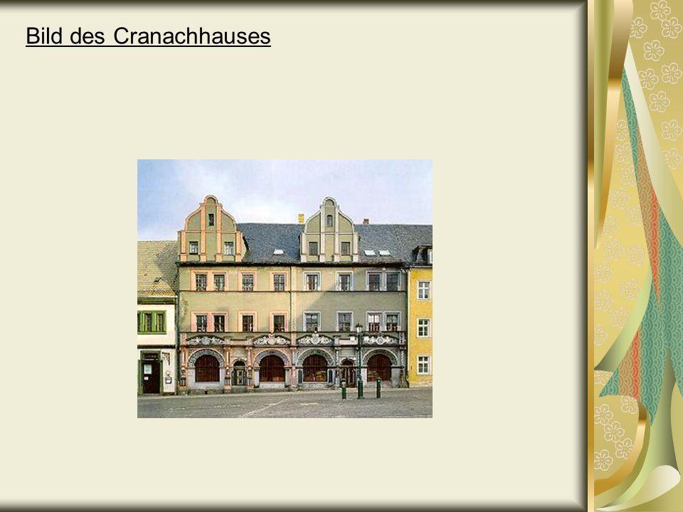 Bild des Cranachhauses