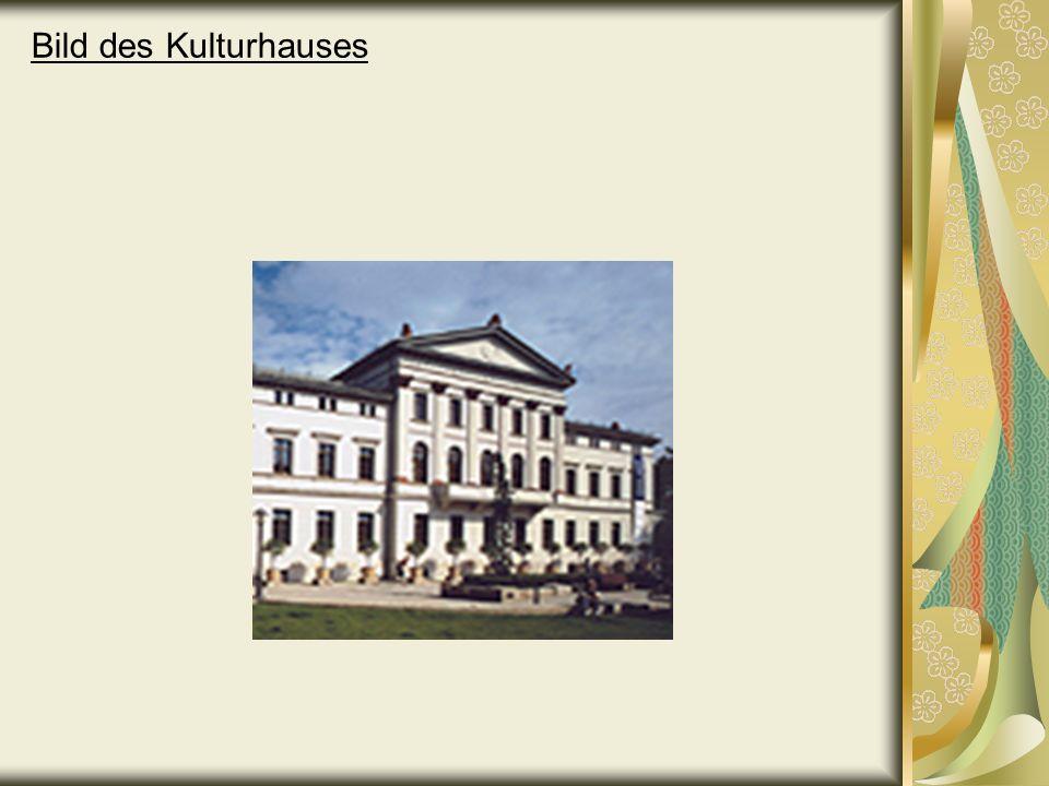 Bild des Kulturhauses