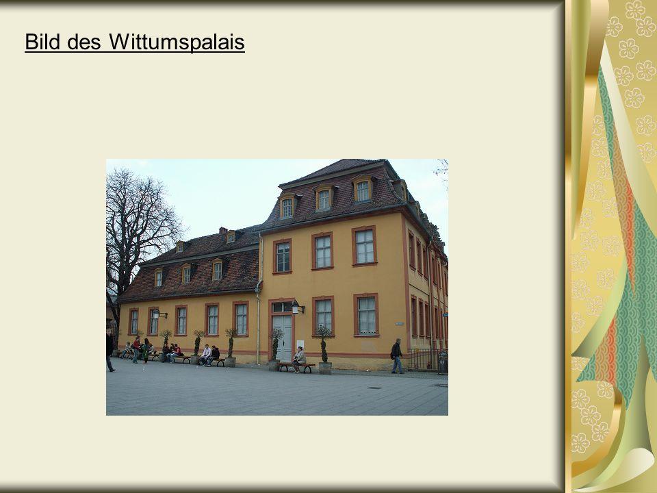 Bild des Wittumspalais