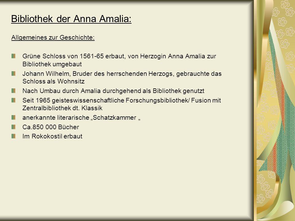 Bibliothek der Anna Amalia: