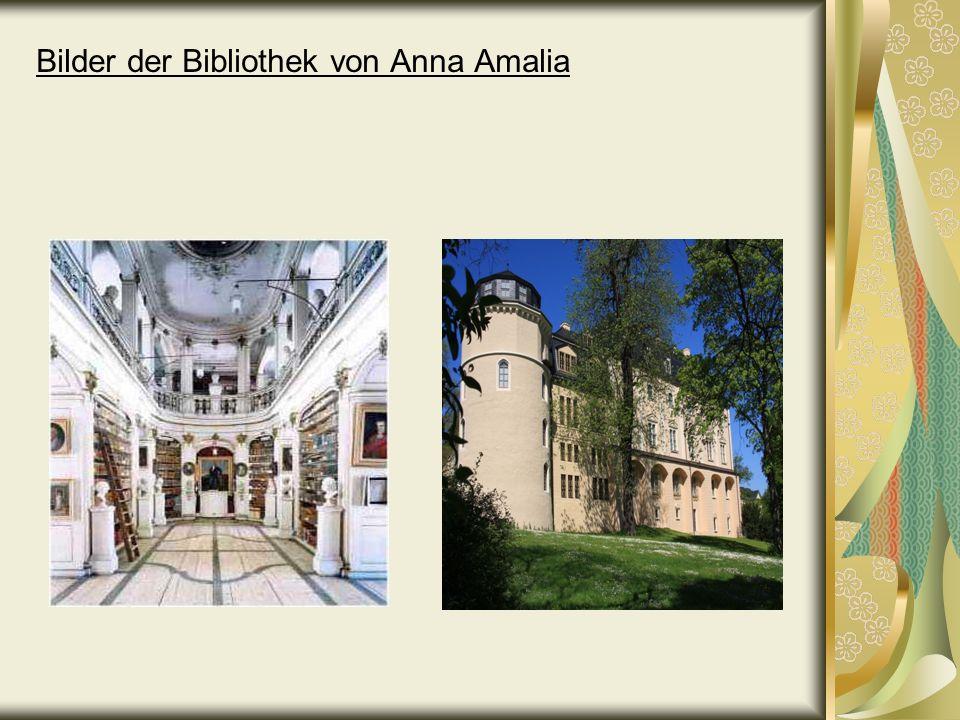 Bilder der Bibliothek von Anna Amalia