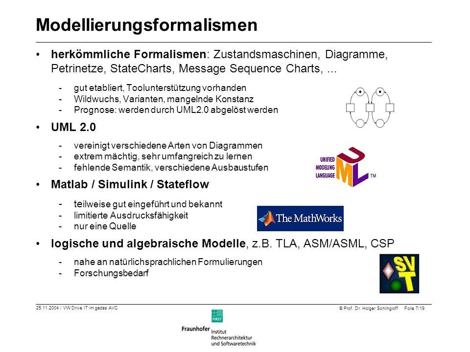 Modellierungsformalismen