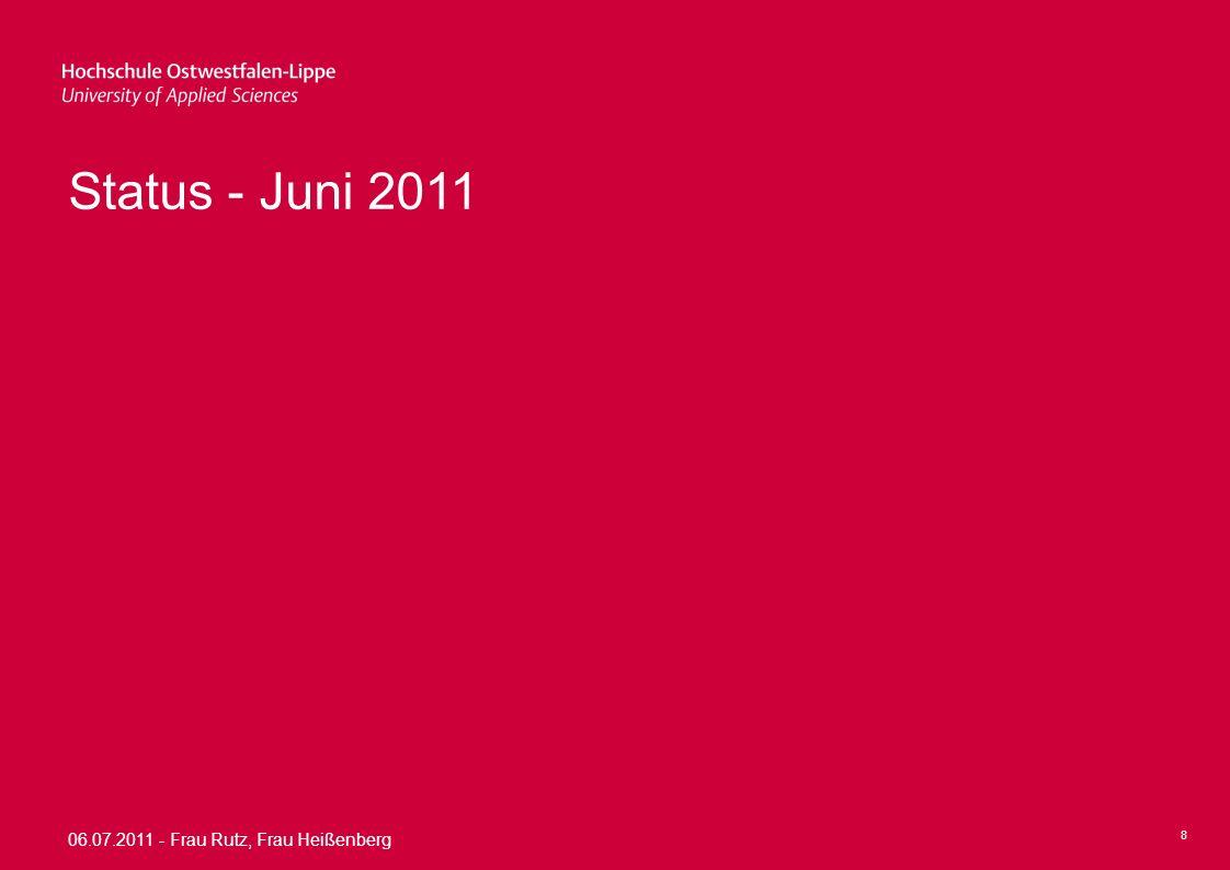 Status - Juni 2011