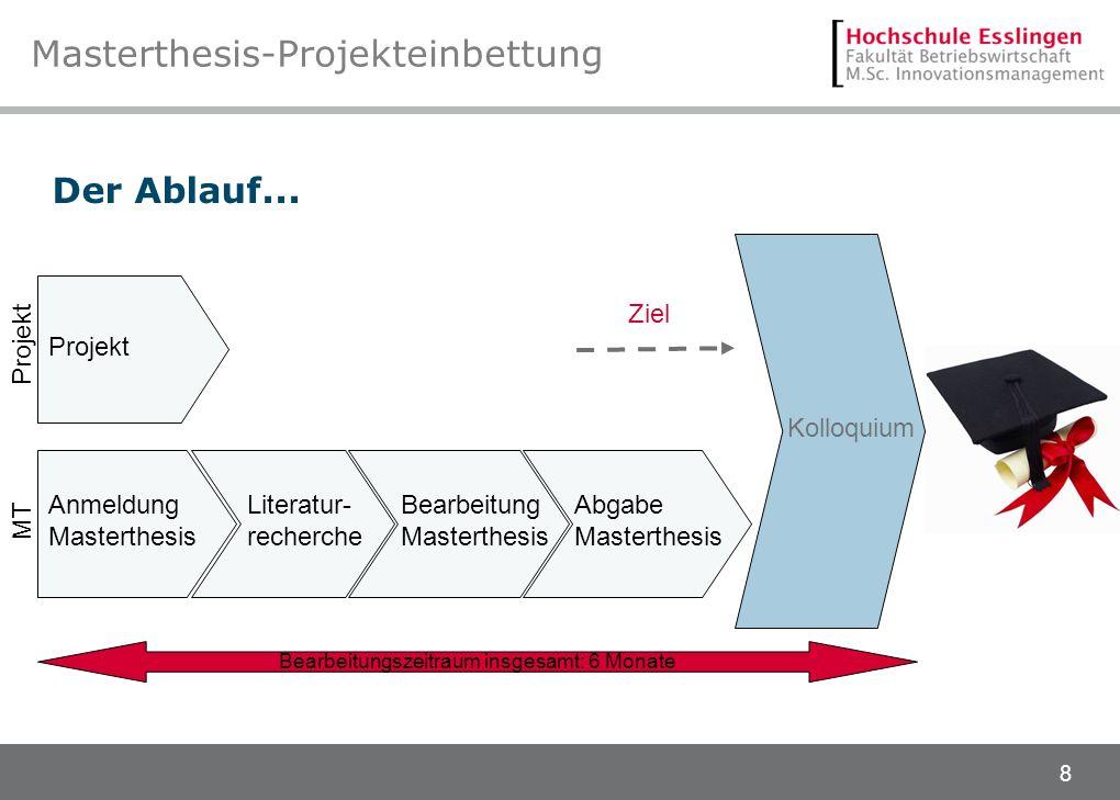 Masterthesis-Projekteinbettung