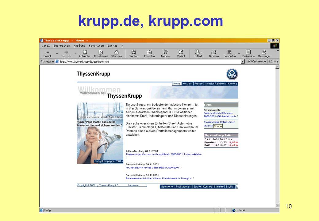 krupp.de, krupp.com