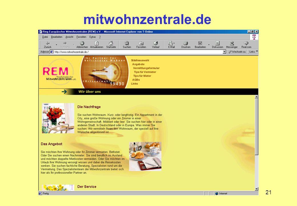mitwohnzentrale.de
