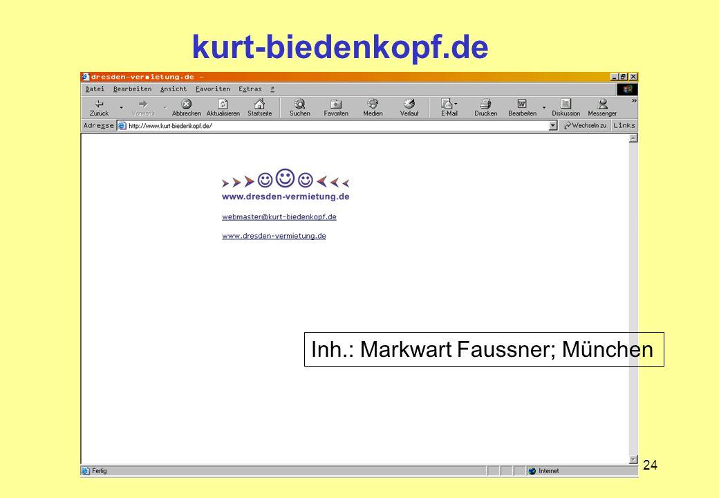 kurt-biedenkopf.de Inh.: Markwart Faussner; München
