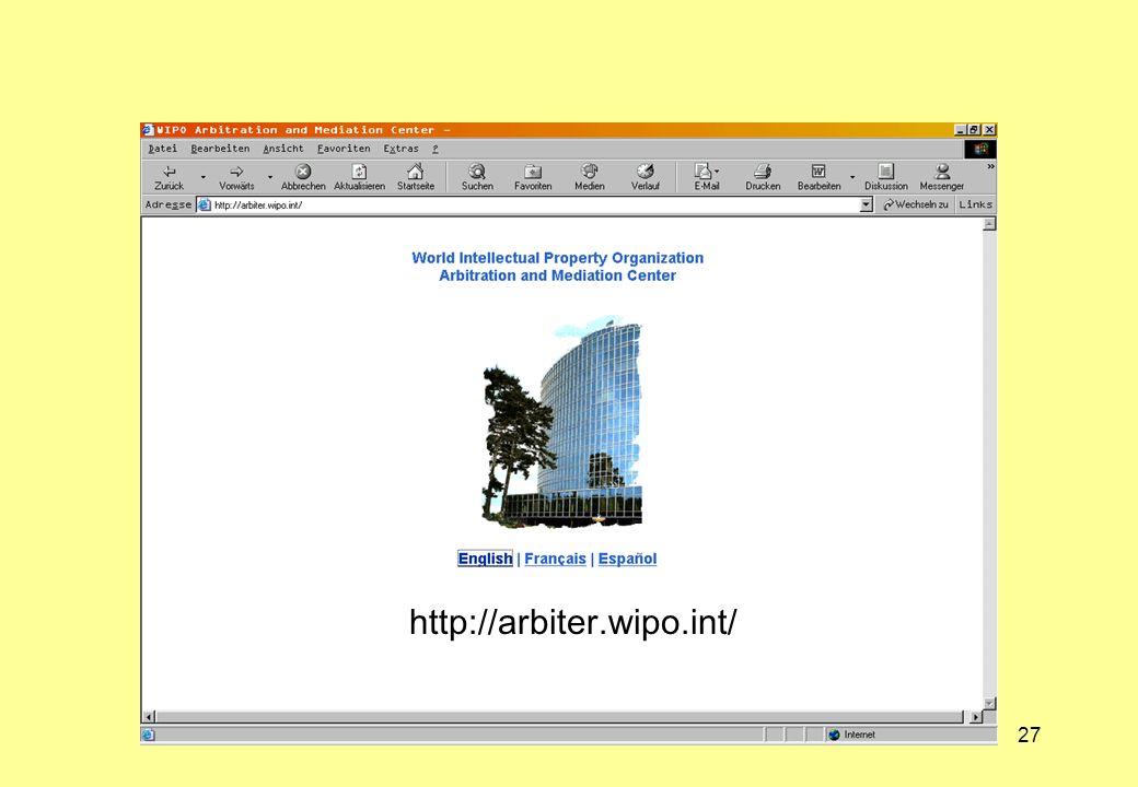 http://arbiter.wipo.int/