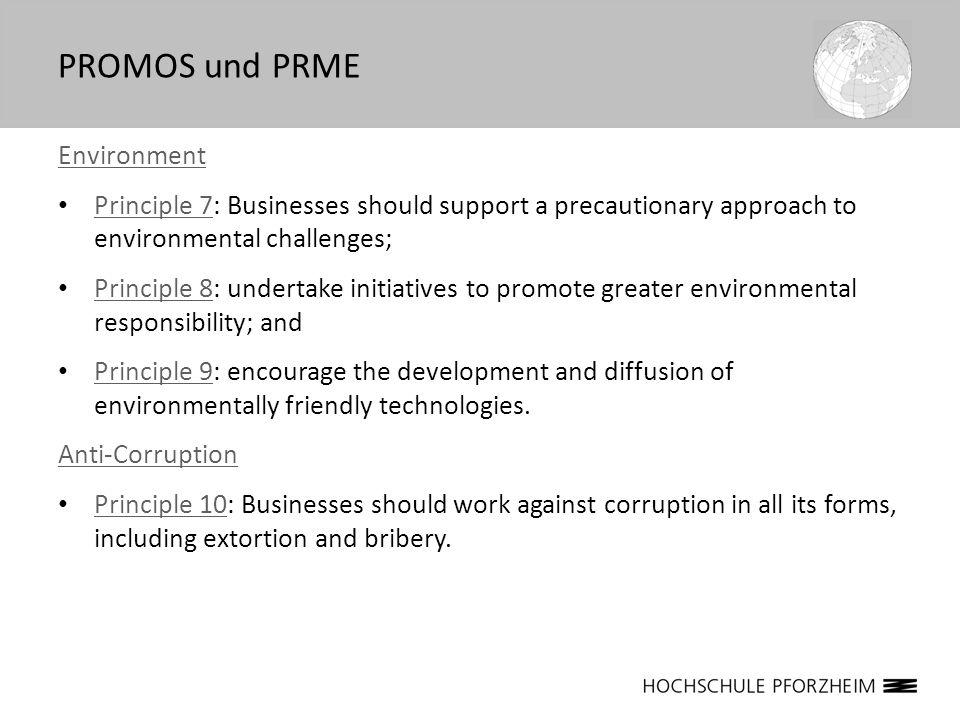 PROMOS und PRME Environment