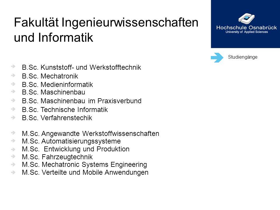 Fakultät Ingenieurwissenschaften und Informatik
